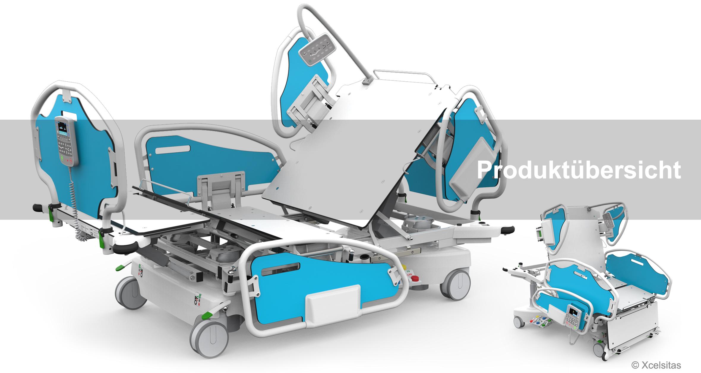 Bariatrische Krankenbetten