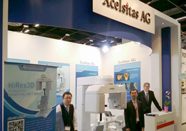 XCELSITAS AND LARGEV INTRODUCED HIRES3D AT IDS 2015